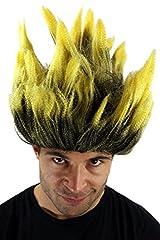 Idea Regalo - WIG ME UP Parrucca da Carnevale, Dragonball, Dämon, Loki, Scienziato Pazzo