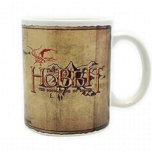 Der Hobbit - Landkarte Von Mittelerde Foto-Tasse Kaffeetasse (9 x 8cm)