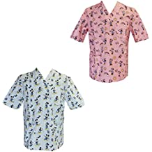 Casaca de uniforme de enfermero/hospital, para pediatría, estampado infantil para terapia con