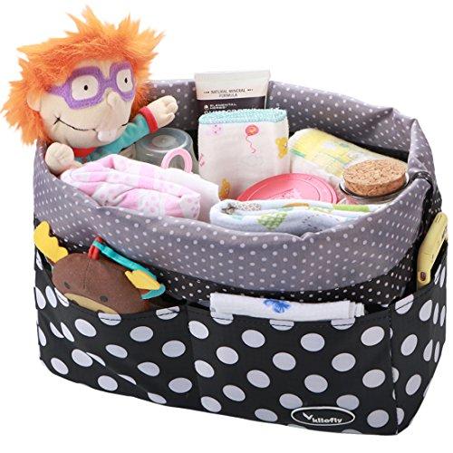 kilofly Baby Wickeltasche Kordelzug Schließung Einsatz Organizer Handtasche rutschsicher
