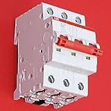 ABB SD203/40 Hauptschalter Lasttrennschalter Schalter 3-polig 40A rot