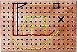 #7: Little Genius Lacing Board, Multi Color