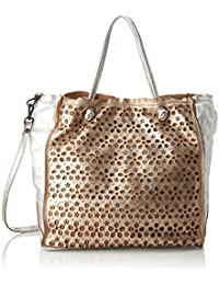 L000650nd, Womens Bag, Multicolour (Amazzonia), 9x29x34 cm (B x H T) Caterina Lucchi
