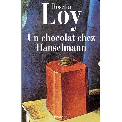 Un chocolat chez Hanselmann