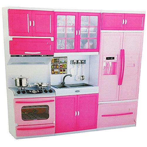 Puppenküche mit Zubehör / Spielküche mit - Puppe Küche