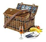 Weiden-Picknick Korb