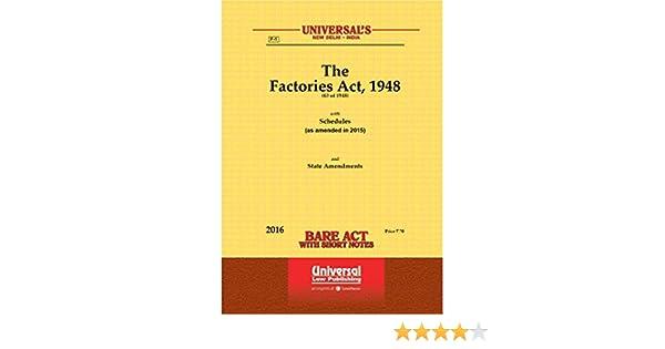 Factory Act 1948 In Gujarati Language Pdf