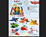 1 Peluche DISNEY PLANES 20 cm le nouveau film d'animation successeur de CARS 6 modeles differents 1 peluche Planes aléatoire