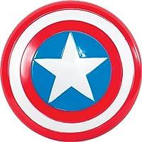 Rubie's UFFICIALE Child's Marvel Avengers RIUNIONE 12 Capitan America Scudo - Taglia unica - include 12-inch SCUDO - US Progettato E DI TAGLIA PRODOTTO - prodotto con licenza ufficiale di Rubie testato a tutte le norme europee e del Regno Uni...