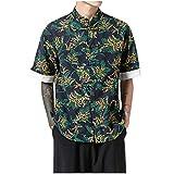 UINGKID Hommes Polo Sport T-Shirt Personnalité T-Shirt à Manches Courtes Mode...