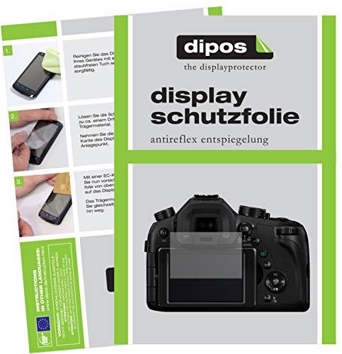 dipos I 6X Schutzfolie matt passend für Panasonic LUMIX DMC-FZ1000EG Folie Displayschutzfolie