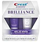 Crest 3D White Brilliance Daily Cleansing Toothpaste and Whitening Gel System