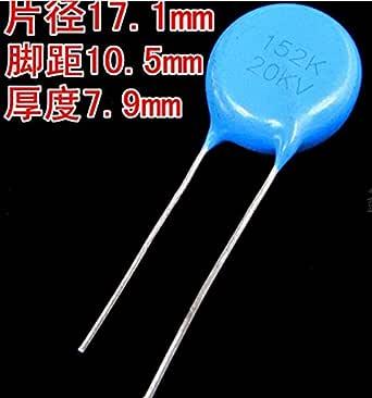 Nouveau 20pcs 20 kV 221 20000 V 221K 220P 220PF haute tension Condensateurs Céramiques