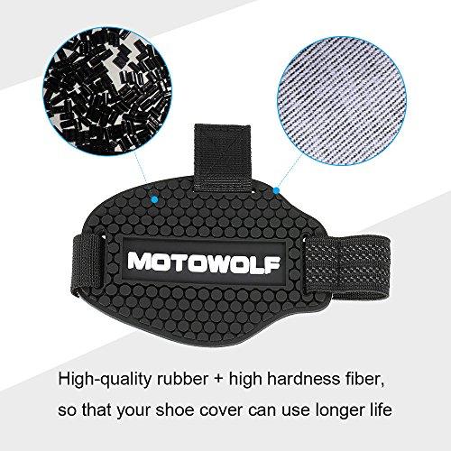 Stivali e Protezioni del Cambio Accessori Protezione Anti-Scivolo per Stivali da Equitazione Resistente allUsura KKmoon Protezione del Cambio del Motociclo L
