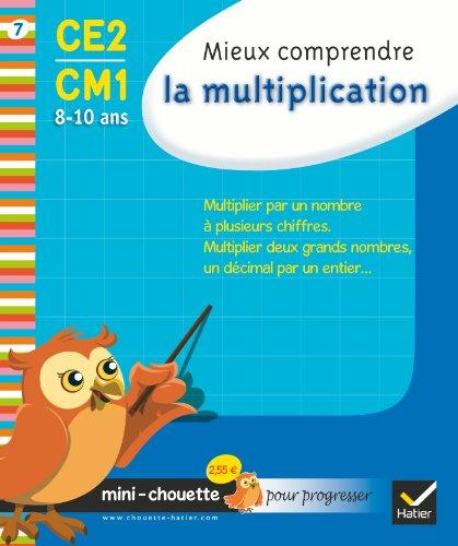 Mini chouette mieux comprendre la multiplication CE2/CM1 8-10 ans