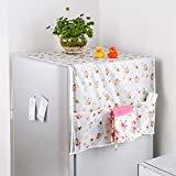 #9: Refrigerator Dust Cover 55CMX130CM Pack of 1 Color & Design May Vary (With Free Token)
