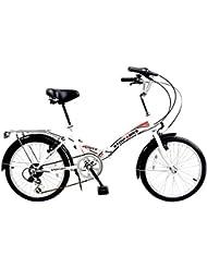 """Stowabike 20"""" Folding City V2 Compact Foldable Bike -6 Speed Shimano Gears"""