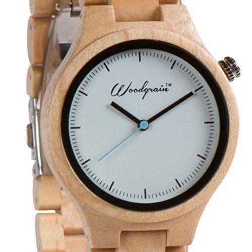 Woodgrain (Woodgrain Watches Herren Handgefertigte Armbanduhr)