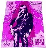 "Hannah Montana Microfiber Oversized Fleece Junior Size Blanket 50"" X 60"""