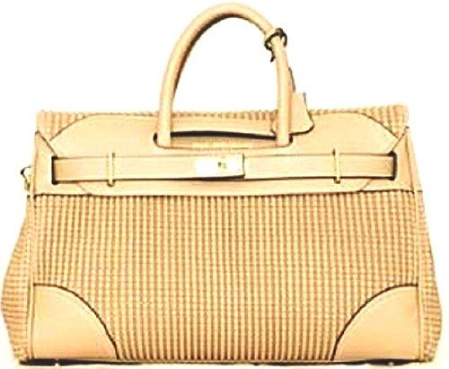 Mac Douglas Damen Pyla Bryan Xs Handtasche, 12.5x25x34.5 cm Beige (Sable)