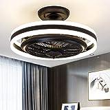 New LED Ceiling Fan Light Ceiling Fan Light Bedroom Negative ion Invisible Fan