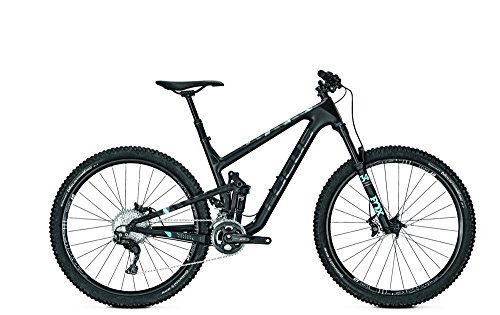 Mountainbike Focus Jam C Pro Shimano XT 22G Carbon Diamant 27' , Rahmenhöhen:50, Farben:black/lightblue