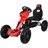 Extreme Large Junior Pedal Go Kart with Fender Red