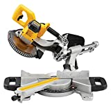 Dewalt DCS365M2 18 V 184 mm Cordless Mitre Saw - Yellow