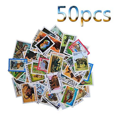 Briefmarken,Fein,Werbebrief,Löschung,Tiere,Hunde,Tiger,Schmetterlinge,Raubvögel,Kunst,Sammeln,Hobby,50Pcs Medaillen/C/M