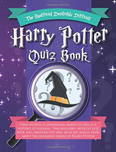 The Unofficial Devilishly Difficult Harry Potter Quiz Book por Cooknation