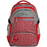 """Genius Polyester 48cms Multi Color Softsided Laptop Backpack (LT 1502-19"""")"""