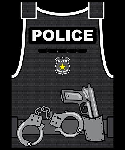 ::: YMCA ::: 6er SET ::: Boys T-Shirt Schwarz Aufdruck Police