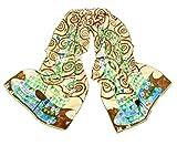 Nella-Mode SEIDENSCHAL Seidentuch Kunstdruck nach Gustav Klimt