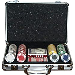 Set Completo 200 Fiches 11,5 Gr Texas Hold Em Clay