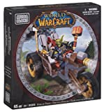 Mega Bloks 91019 - World Of Warcraft - Goblin Trike & Pitz (Horde Goblin Warrior)