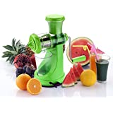 SNDIA Deluxe Fruit & Vegetable Manual Juicer Mixer Grinder With Steel Handle And Waste Collector