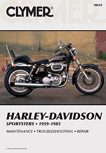 Harley-Davidson Sportsters 1959-1985, Service, Repair, Maintenance