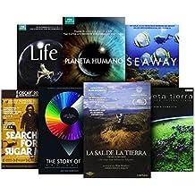 Pack Documentales: La Sal De La Tierra + The Story Of Film + Searching For Sugar Man + Planeta Tierra + Planeta Humano + Life + Seaway
