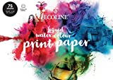 ECOLINE impression papier DIN A4, 75 en vrac feuilles, druckpapier, papier à dessin, 150 g/m²