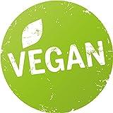 Finest-Folia 500x Etiqueta de Producto ecológico Vegano, sin Gluten, Libre de lactosa, Vegetariano Risch