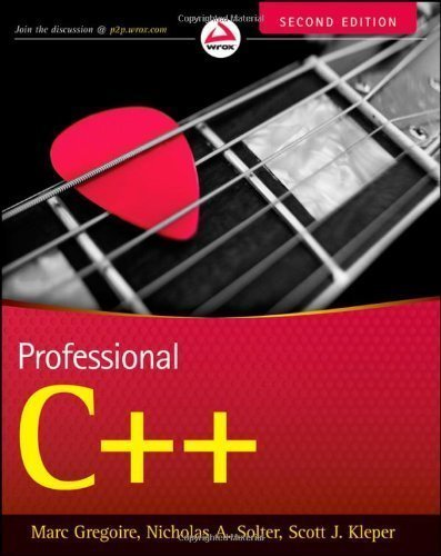 Professional C++ by Marc Gregoire (Oct 4 2011)