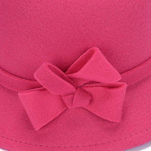 L'automne Et L'hiver Mode Chapeau Chaud Mme Rétro Rue Laine Froide Chapeau Piecesofred
