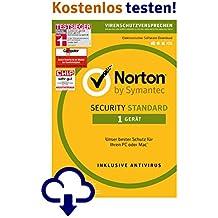 Norton Security Standard - 1 Gerät - monatliche Abrechnung [12 Monats Abonnement]