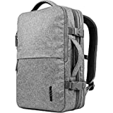 'Incase cl90020 Grey Backpack – Backpacks (Grey, Monotonie, 300 D, Zipper, UP TO 17 Laptop, iPad, 381 mm)