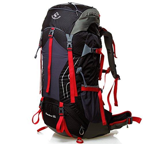 coppia Zaino outdoor/Escursionismo zaino professionale/borsa da viaggio ad alta capacità F
