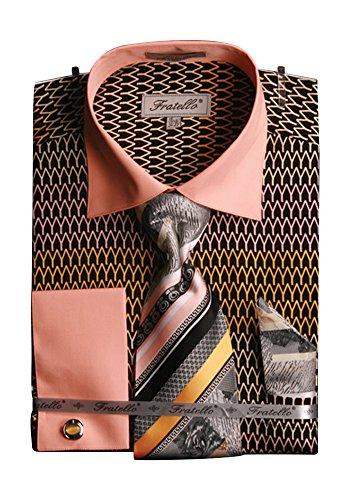 Sunrise Outlet - Chemise habillée - Avec boutons - Homme Or - Doré