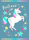 Believe In Unicorns Tea Towel 100% Cotton Home & Dry Range Gift Idea