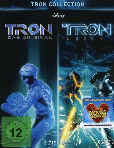 TRON Collection: TRON / TRON Legacy [2 Blu-ray] (Box-set Walt Disney)