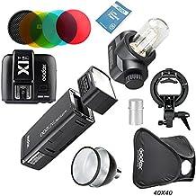 Godox AD200 Nuevo 2.4G TTL Bolsillo Flash 200Ws TTL HSS 1/8000s Flash Con 2900mAh Litio Batería+X1T-F+AD-S2 Reflector Estándar+AD-S11 Filtro+AD-S15 +S-Type+Softbox Para Fuji Serie de DSLR Cámaras