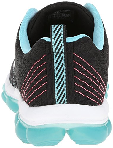 Skechers Skech-air style Fix, Baskets Basses femme Noir - Schwarz (BKBL)